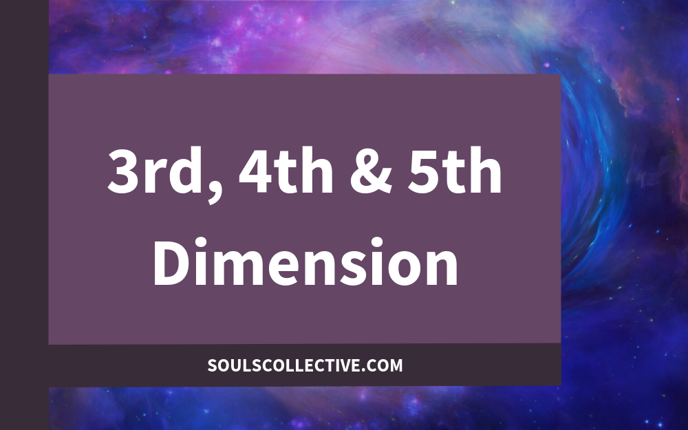 3rd, 4th & 5th Dimension